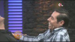 Los besos de José Ron y Yordi Rosado