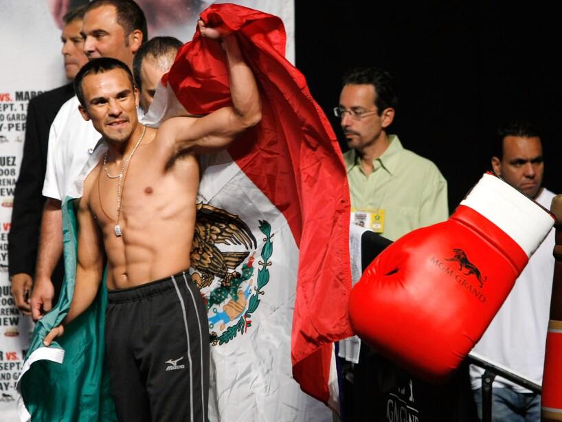 Casamayor v Marquez Weigh-In