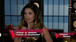 Cristina Ramos no pensó llegar a la final de La Voz... México