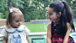 Así celebró Kailani sus dos años de vida en compañia de su inseparable amiga Aitana Derbez