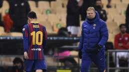 Koeman tunde a Di María por decir que Messi no está lejos de jugar en PSG