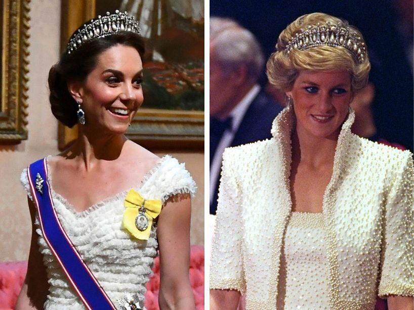 Estos son los tributos que Meghan Markle y Kate Middleton han hecho en honor a la Princesa Diana