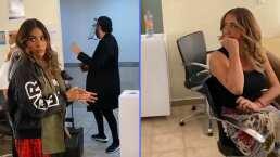 Galilea Montijo y Andrea Legarreta reciben 'fuerte regaño' en los camerinos de 'Hoy'