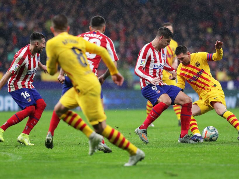 Club Atletico de Madrid v FC Barcelona - La Liga