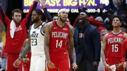 Donovan Mitchell brilló ante los Pelicans