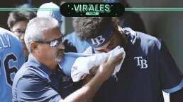 Garrett Whitley, prospecto de los Rays recibe pelotazo y sufre múltiples fracturas