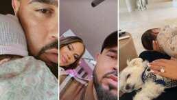 Natti Natasha enternece al aparecer durmiendo a sus dos bebés; su hija y su mascota