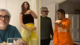 ¡Un papá cool!: Alfonso Cuarón protagoniza simpáticas apariciones en el TikTok de su hija, Tess Buu
