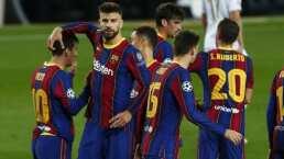 Barça con cuatro bajas para enfrentar a la Juve