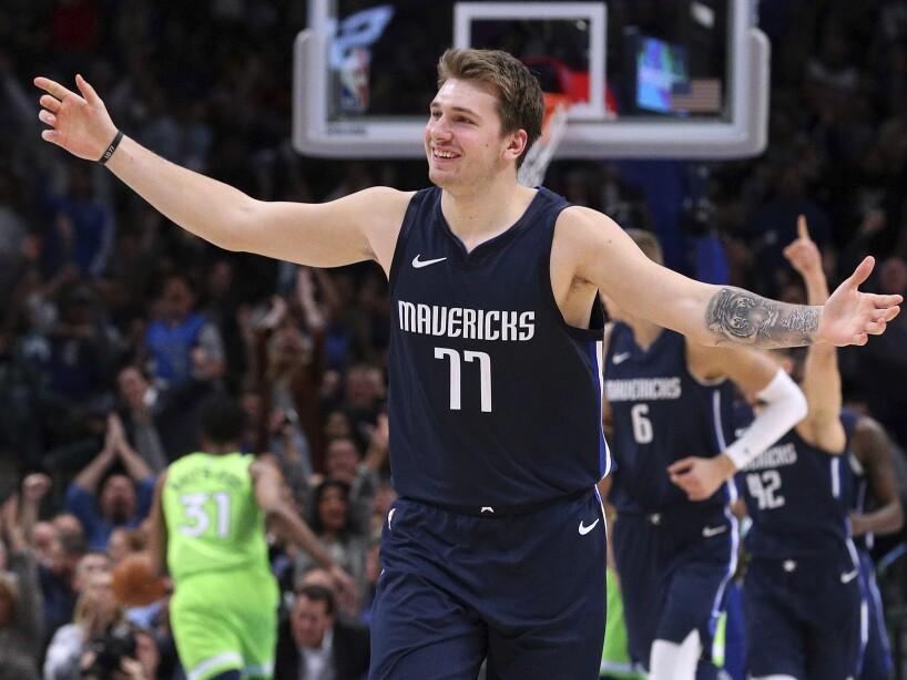 Timberwolves Mavericks Basketball