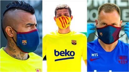 Los Blaugranas preparan su regreso a LaLiga, pero no olvidan las medidas sanitarias para su protección.