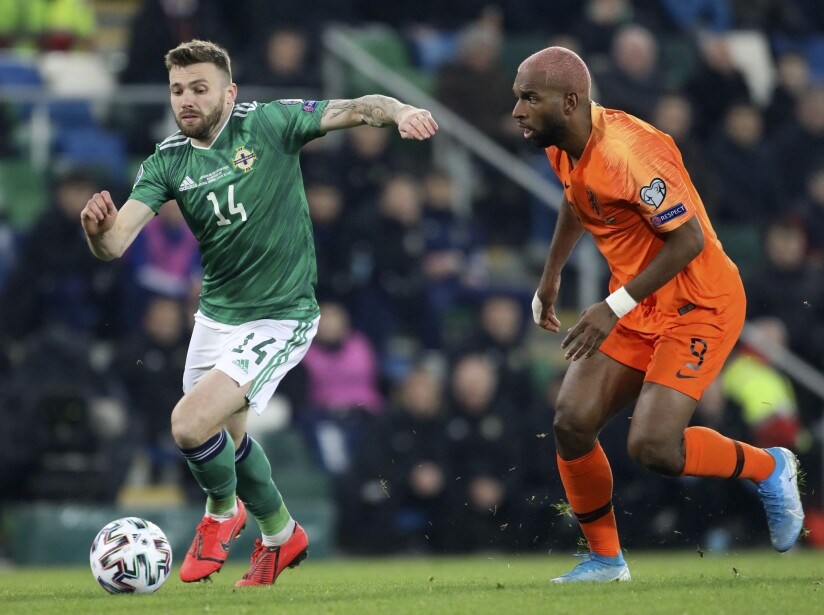 Northern Ireland Netherlands Euro 2020 Soccer