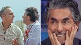 Difunden apasionado beso de Raúl Araiza con otro hombre