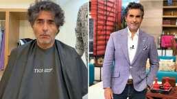 """Raúl Araiza muestra paso a paso cómo se corto el cabello: """"Después de 13 años… Llegó un cambio para mí"""""""