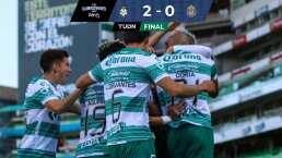 Santos da a Chivas su primera derrota del Guard1anes 2020 BBVA MX