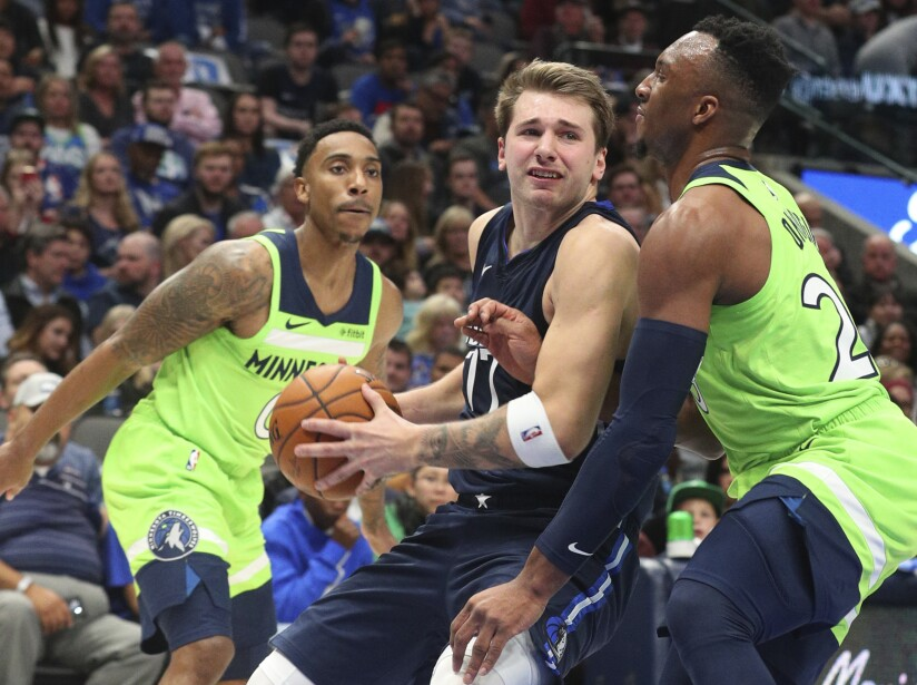 Dallas Mavericks 121-114 Minnesota Timberwolves