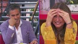 Andrea Legarreta y Raúl Araiza sufren un ataque de risa en pleno programa por culpa de la productora
