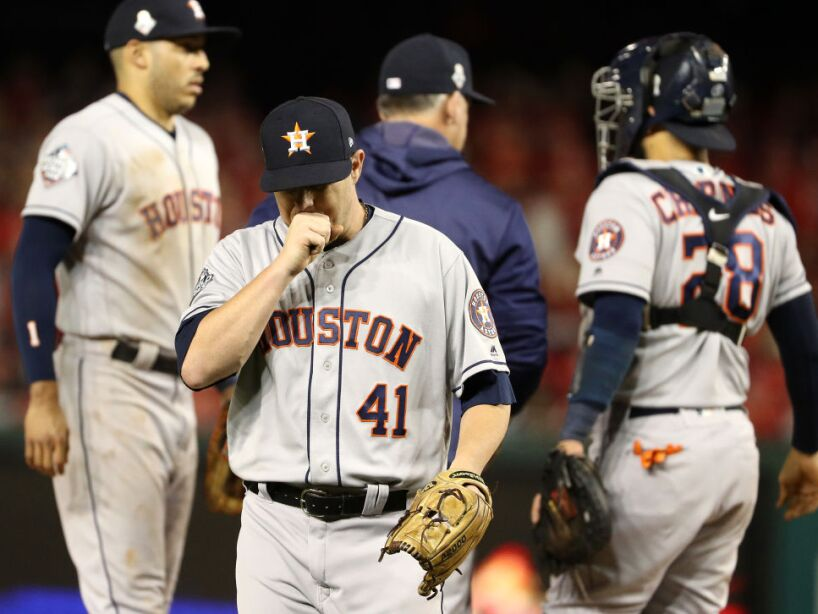 World Series - Houston Astros v Washington Nationals - Game Three