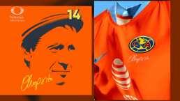 Club América rinde homenaje a 'El Chanfle'