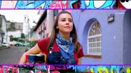 Paulina Goto nos demuestra su talento para el graffiti