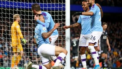 Manchester City 3-1 Leicester City | Llegan a 39 y 38 puntos, respectivamente y ocupan el segundo y tercer sitio de la tabla general.