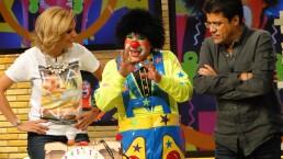 Payaso Chuponcito, en la comedia de Hoy