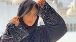 Belinda y su paseo por los Emiratos Árabes