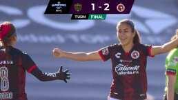 Resumen | Tijuana logra el triunfo casi al final de 1-2 ante las Bravas