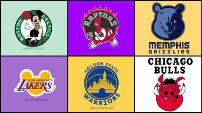 Pareciera que todos los logos de la NBA tienen una manera de adaptarlos con las legendarias películas de Disney, la compañía de entrenemiento que ha cautivado a millones de personas en su infancia, ahora deslumbra en la NBA.