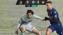 Lainez vuelve a ser titular y el Betis gana en Huesca