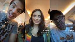 Aislinn, Vadhir, y Eugenio Derbez conquistaron 'Tik Tok' con geniales videos