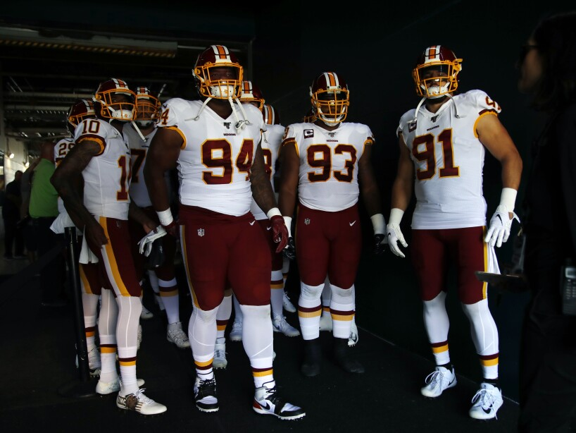 Redskins Eagles Football