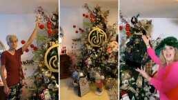 Erika Buenfil presume desde su árbol de Navidad hasta las esferas de TikTok
