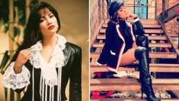 Revive a Galilea Montijo imitando a Selena Quintanilla y mira por qué la conductora podría interpretarla