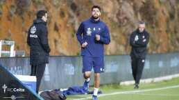 Inaugura Néstor Araujo los entrenamientos del Celta de Vigo