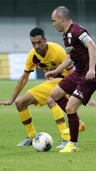 Andres Iniesta, Sergio Busquets