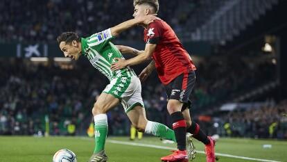 En el Benito Villamarín igualaron a tres goles ante el Mallorca en la J25 de La Liga. Juan Camilo Hernández (16') adelantaba a los visitantes hasta que Sergio Canales (19'), de tiro penal hizo, el 1-1. Budimir (27') aventajó nuevamente a Mallorca. Marcaron un segundo penal en favor de Betis, mismo que cobró y anotó Fekir (35'). Joaquín Sánchez (48') daba la victoria a los locales, pero Kubo (70') arrebató el empate. Guardado salió al 87'.