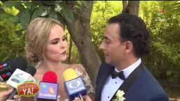 ¡Adal Ramones y Karla de la Mora realizan boda en un safari!