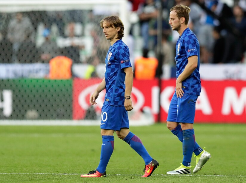 Soccer Euro 2016 Czech Republic Croatia