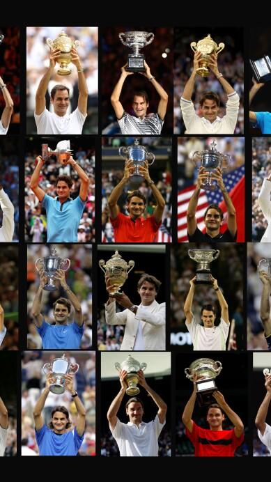 Roger Federer's 20 Grand Slams Titles