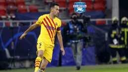 ¡Volvió 'El Pulpo'! Marc Crosas destaca el nivel de Busquets en Copa