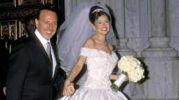 A 20 años de su boda, Thalía visita la iglesia donde se casó con Tommy Motola