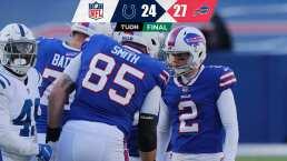 Los Bills ganaron en playoffs tras 25 años de sequía