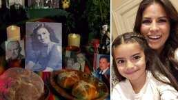 Vivir en otro país no impide que Alessandra Rosaldo le enseñe a Aitana todo sobre el altar de muertos