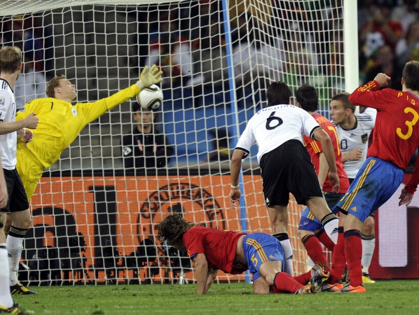 South Africa Soccer WCup Germany Spain