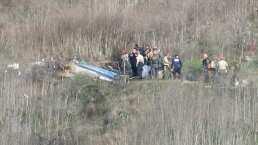 Confirmado: agentes tomaron fotografías de Bryant tras accidente