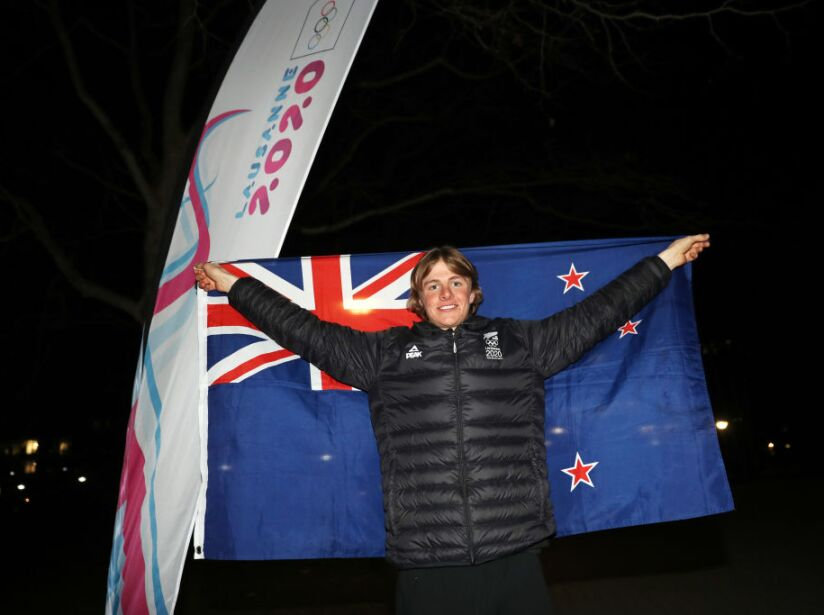 New Zealand Flag Bearer Announcement Ceremony