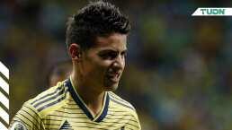 James Rodríguez sufre un esguince ligamento interno de rodilla izquierda