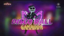 Disco Ball es la ganadora indiscutible de ¿Quién es la Máscara?