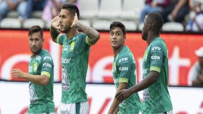 Ismael Sosa abrió el marcador en el Hidalgo